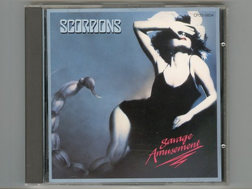 Savage Amusement / Scorpions [Used CD...
