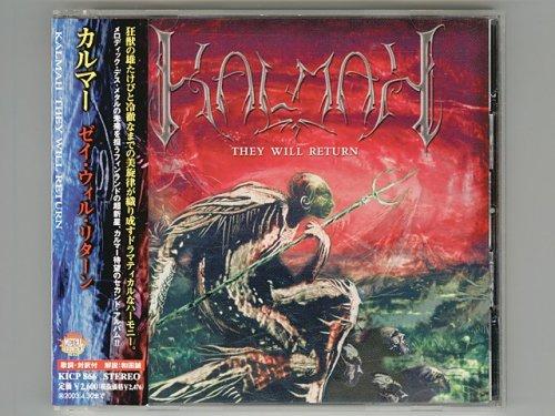 They Will Return / Kalmah [Used CD] [KICP 866] [w/obi]