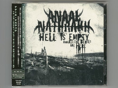 Hell Is Empty, And All The Devils Are Here / Anaal Nathrakh [Used CD] [YDSI-0028] [w/obi]