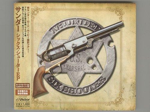 Six Shooter Ep / Thunder [Used CD] [VICP-63329] [Digipak] [EP] [w/obi]