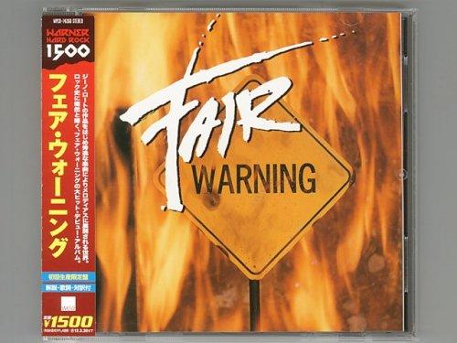 St / Fair Warning [Used CD] [WPCR-14260] [w/obi]