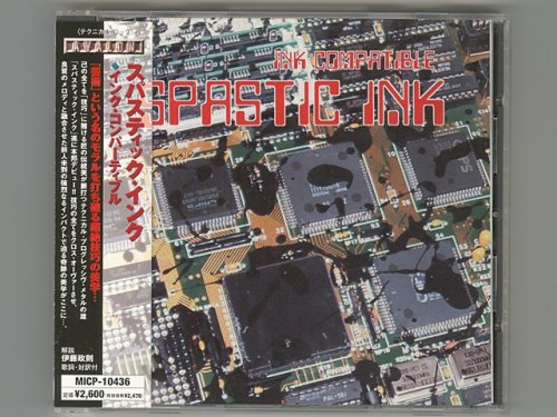 Ink Compatible / Spastic Ink [Used CD] [MICP-10436] [w/obi]