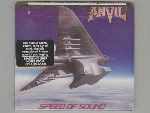 Speed Of Sound / Anvil [Used CD] [TE272-2] [Digipak] [Import] [Sealed]