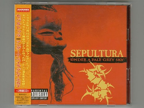 Under A Pale Grey Sky / Sepultura [Used CD] [RRCY-29036/7] [2CD] [w/obi]
