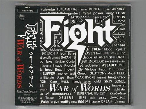 War Of Words / Fight [Used CD] [ESCA 5819] [w/obi]