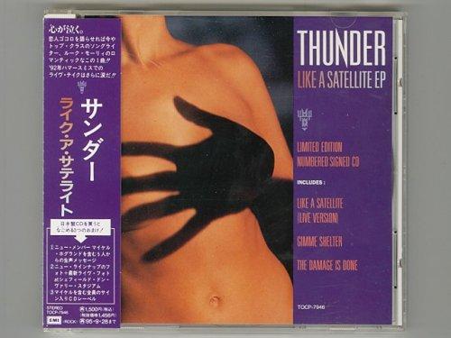 Like A Satellite / Thunder [Used CD] [TOCP-7946] [EP] [w/obi]