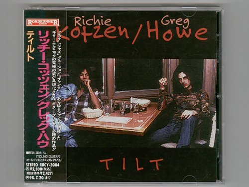 Tilt / Richie Kotzen & Greg Howe [Used CD] [RRCY-3004] [w/obi]