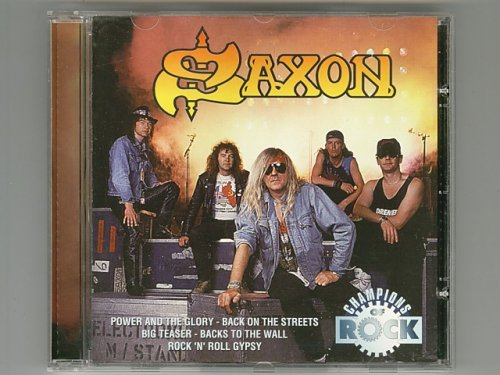 Champions Of Rock / Saxon [Used CD] [...