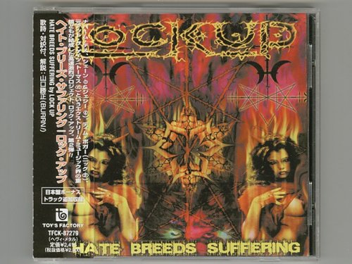 Hate Breeds Suffering / Lock Up [Used CD] [TFCK-87279] [w/obi]