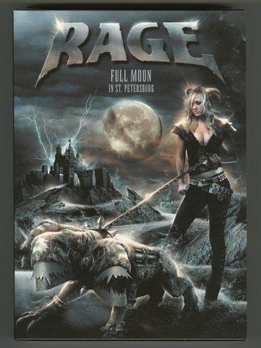 Full Moon In St. Petersburg / Rage [Used DVD] [MIZF-70004] [2DVD+CD] [1st Press]