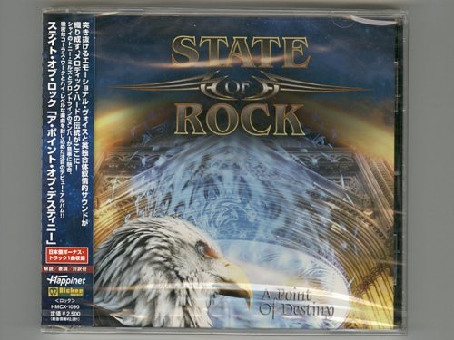 A Point Of Destiny / State Of Rock [Used CD] [HMCX-1090] [Sealed]
