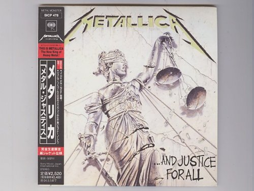 ...And Justice For All / Metallica [Used CD] [SICP 478] [Paper Sleeve] [w/obi]
