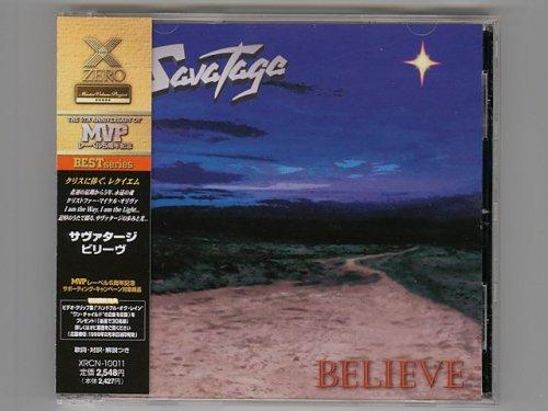 Believe / Savatage [Used CD] [XRCN-10011] [1st Press] [w/obi]