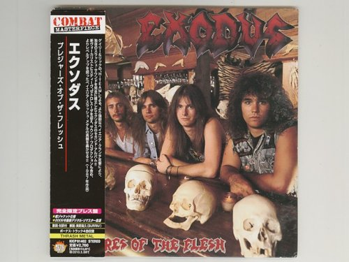 Pleasures Of The Flesh / Exodus [Used CD] [KICP 91402] [Paper Sleeve] [w/obi]