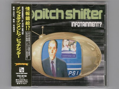 Infotainment? / Pitch Shifter (Pitchshifter) [Used CD] [TFCK-88788] [w/obi]  - METAL QUEEN