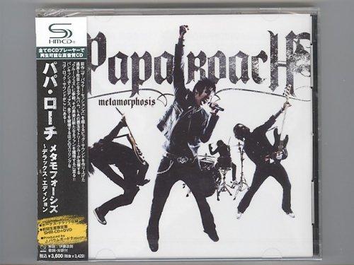 Metamorphosis -Deluxe Edition- / Papa Roach [Used CD] [UICF-9063] [CD+DVD] [1st Press] [Sealed]