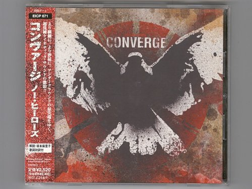 No Heroes / Converge [Used CD] [EICP 671] [w/obi]