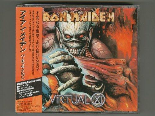 Virtual XI / Iron Maiden [Used CD] [TOCP-50440~1] [2CD] [1st Press] [w/obi]