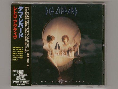 Retro Active / Def Leppard [Used CD] [PHCR-1221] [w/obi]