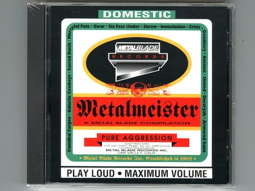 Metalmeister - Metal Blade Compilation / V.A. [New CD] [3984-14113-2] [Import]