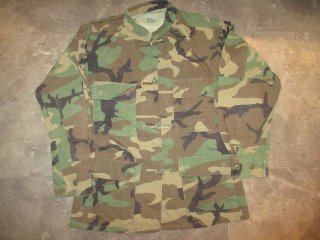 <img class='new_mark_img1' src='//img.shop-pro.jp/img/new/icons15.gif' style='border:none;display:inline;margin:0px;padding:0px;width:auto;' />Woodland Camo BDU Remake China Shirt (S-Short)