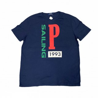 <img class='new_mark_img1' src='//img.shop-pro.jp/img/new/icons15.gif' style='border:none;display:inline;margin:0px;padding:0px;width:auto;' />Polo Ralph Lauren 1993 Sailing Tee (新品) 1