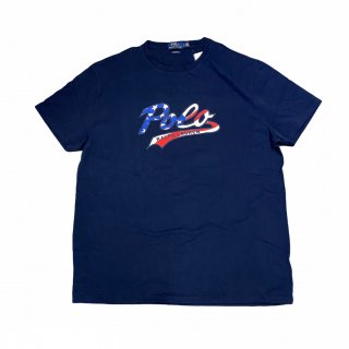 <img class='new_mark_img1' src='//img.shop-pro.jp/img/new/icons15.gif' style='border:none;display:inline;margin:0px;padding:0px;width:auto;' />Polo Ralph Lauren Script Logo Tee (新品) 1