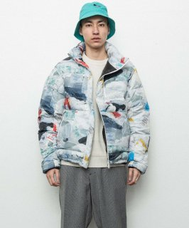<img class='new_mark_img1' src='https://img.shop-pro.jp/img/new/icons15.gif' style='border:none;display:inline;margin:0px;padding:0px;width:auto;' />BAL WINDING ZIP DOWN JACKET (TRASH)