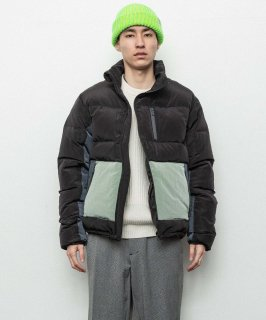 <img class='new_mark_img1' src='https://img.shop-pro.jp/img/new/icons15.gif' style='border:none;display:inline;margin:0px;padding:0px;width:auto;' />BAL WINDING ZIP DOWN JACKET (BLACK)