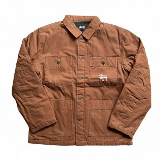 <img class='new_mark_img1' src='https://img.shop-pro.jp/img/new/icons15.gif' style='border:none;display:inline;margin:0px;padding:0px;width:auto;' />STUSSY QUILTED CHORE COAT (新品)