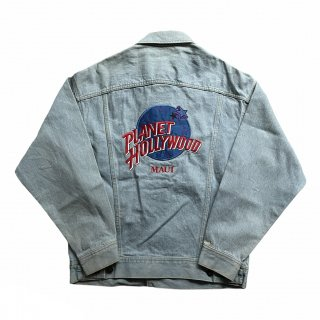 <img class='new_mark_img1' src='https://img.shop-pro.jp/img/new/icons15.gif' style='border:none;display:inline;margin:0px;padding:0px;width:auto;' />PLANET HOLLYWOOD Denim Jacket