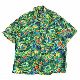 <img class='new_mark_img1' src='https://img.shop-pro.jp/img/new/icons15.gif' style='border:none;display:inline;margin:0px;padding:0px;width:auto;' />GAP Aloha Shirt