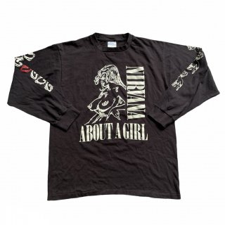 <img class='new_mark_img1' src='https://img.shop-pro.jp/img/new/icons15.gif' style='border:none;display:inline;margin:0px;padding:0px;width:auto;' />NIRVANA L/S Tee (新品)