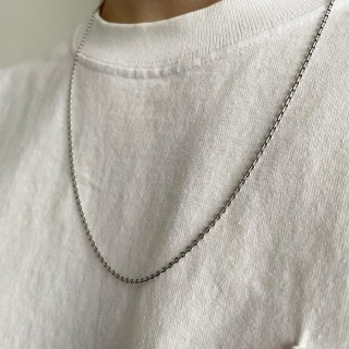 <img class='new_mark_img1' src='https://img.shop-pro.jp/img/new/icons15.gif' style='border:none;display:inline;margin:0px;padding:0px;width:auto;' />Silver Necklace (新品)