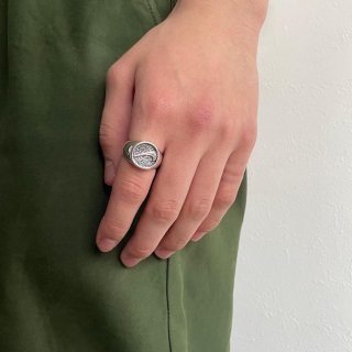 <img class='new_mark_img1' src='https://img.shop-pro.jp/img/new/icons15.gif' style='border:none;display:inline;margin:0px;padding:0px;width:auto;' />Bootleg NIKE Silver Ring (新品)