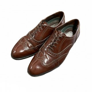 <img class='new_mark_img1' src='https://img.shop-pro.jp/img/new/icons15.gif' style='border:none;display:inline;margin:0px;padding:0px;width:auto;' />FLORSHEIM Wing Tip Leather Shoes