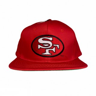 <img class='new_mark_img1' src='https://img.shop-pro.jp/img/new/icons15.gif' style='border:none;display:inline;margin:0px;padding:0px;width:auto;' />NFL San Fransisco 49ers Snap Back Cap(DEAD STOCK)