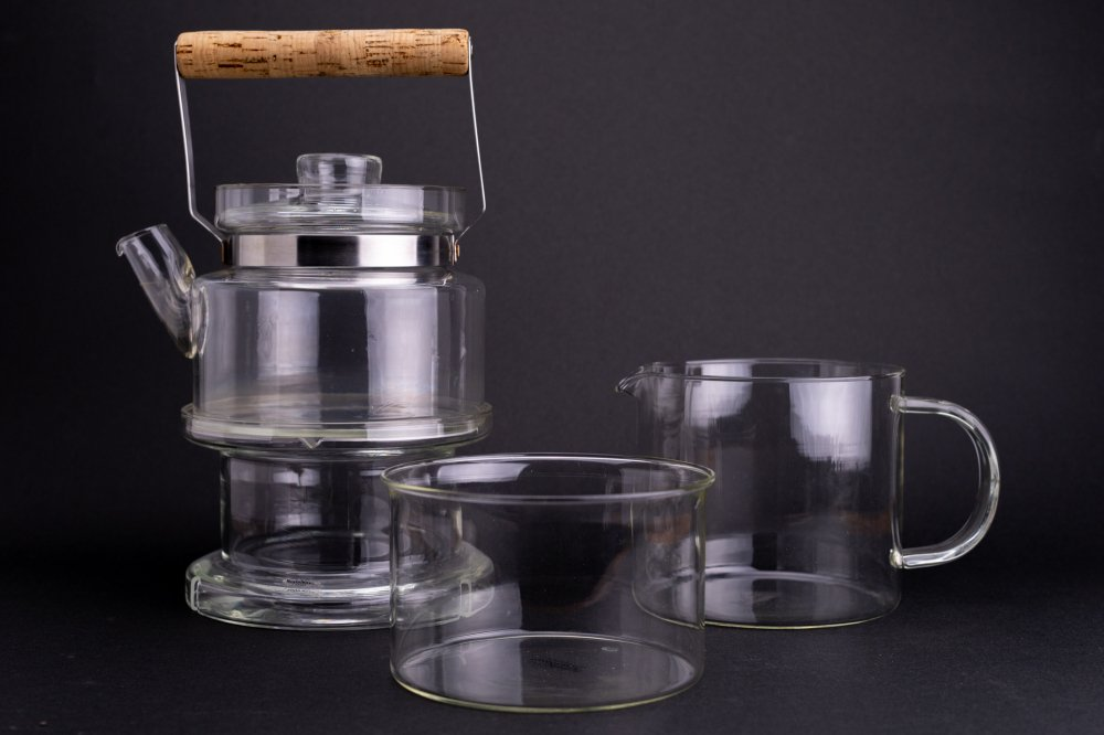 Boda Nova Teapot and Warmer セット