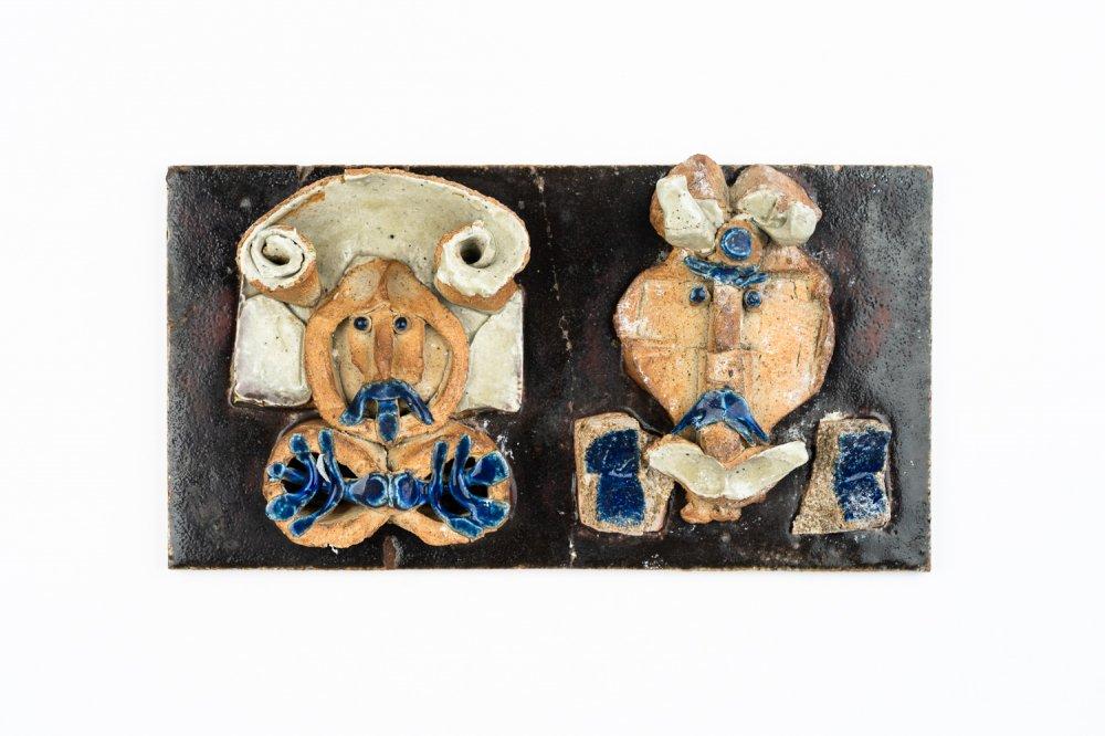 Lisa Larson リサ ラーソン  Unique Piece  陶板
