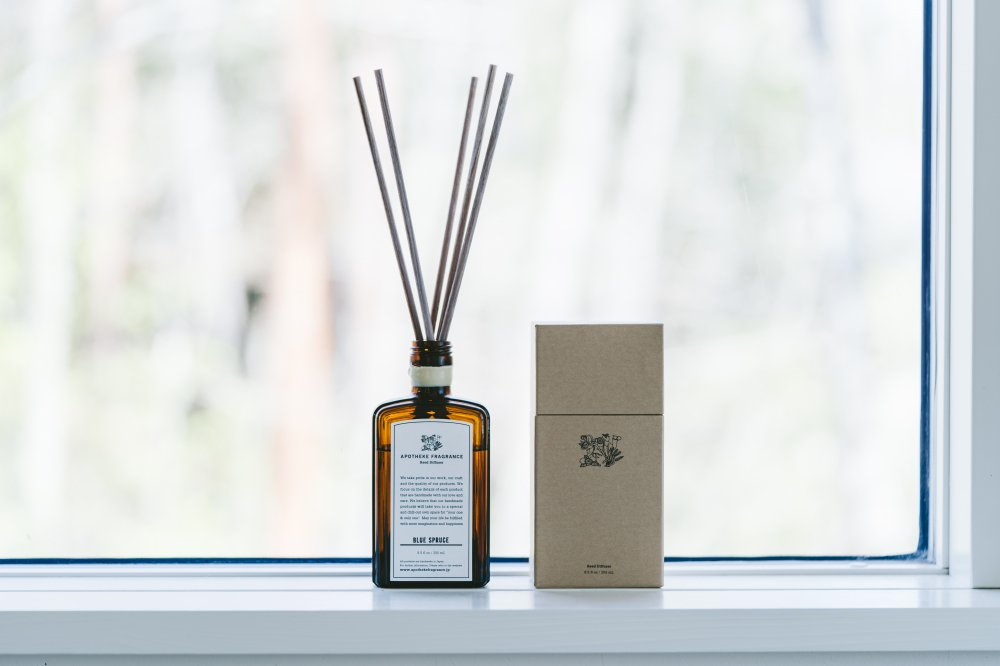 APOTHEKE FRAGRANCE|Reed Diffuser BLUE SPRUCE