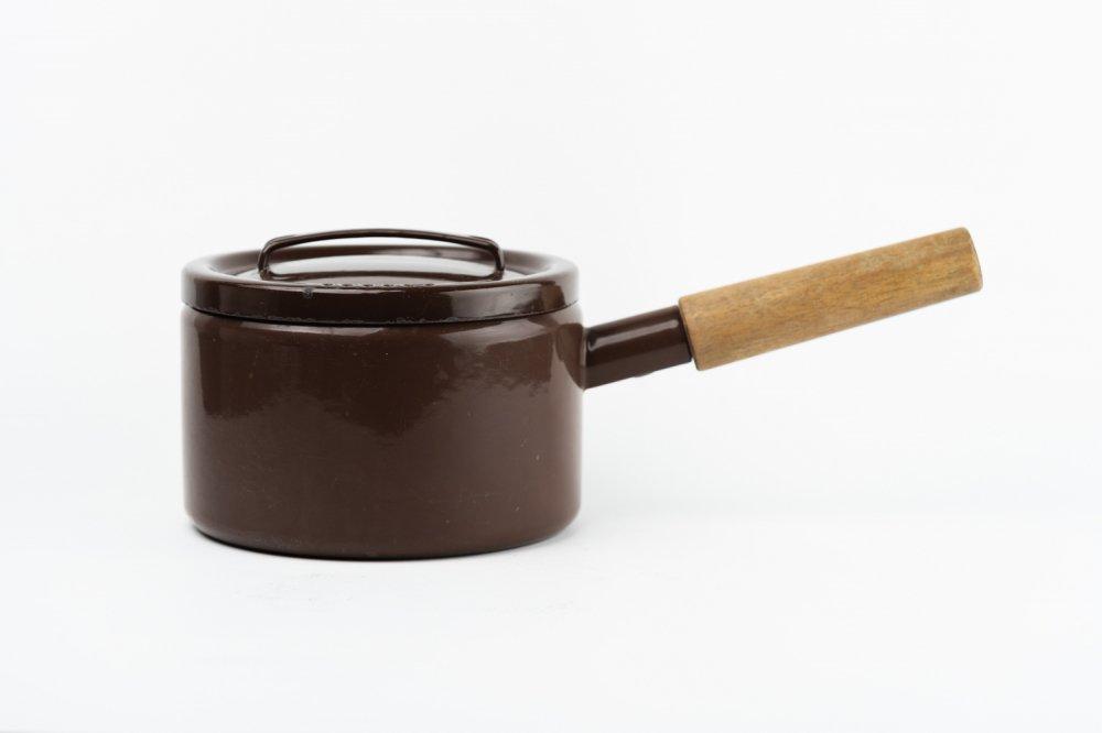 FINEL ホーロー 片手鍋 ブラウン