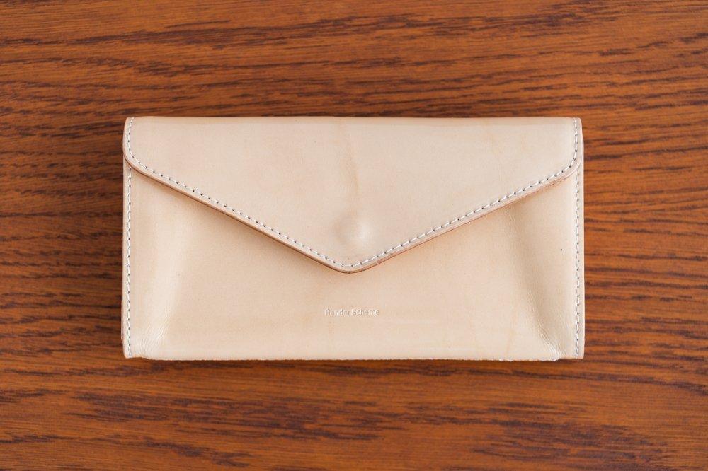 Hender Scheme long wallet patent natural