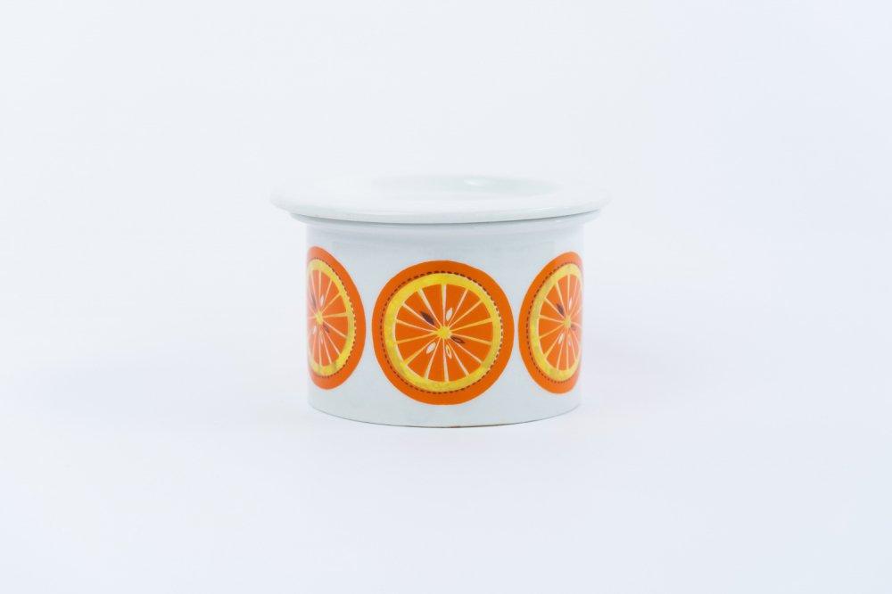ARABIA Pomona / ジャムポット オレンジ