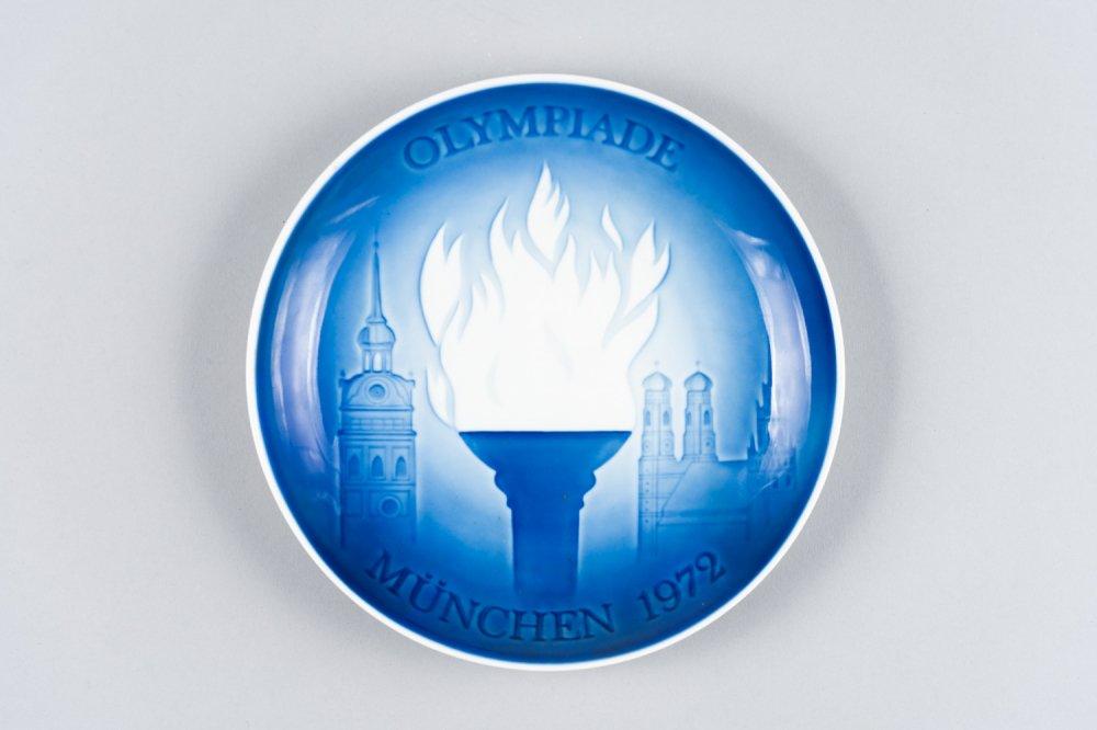 BING&GRONDAHL ビング・オー・グレンダール / ミュンヘンオリンピックめメモリアルプレート