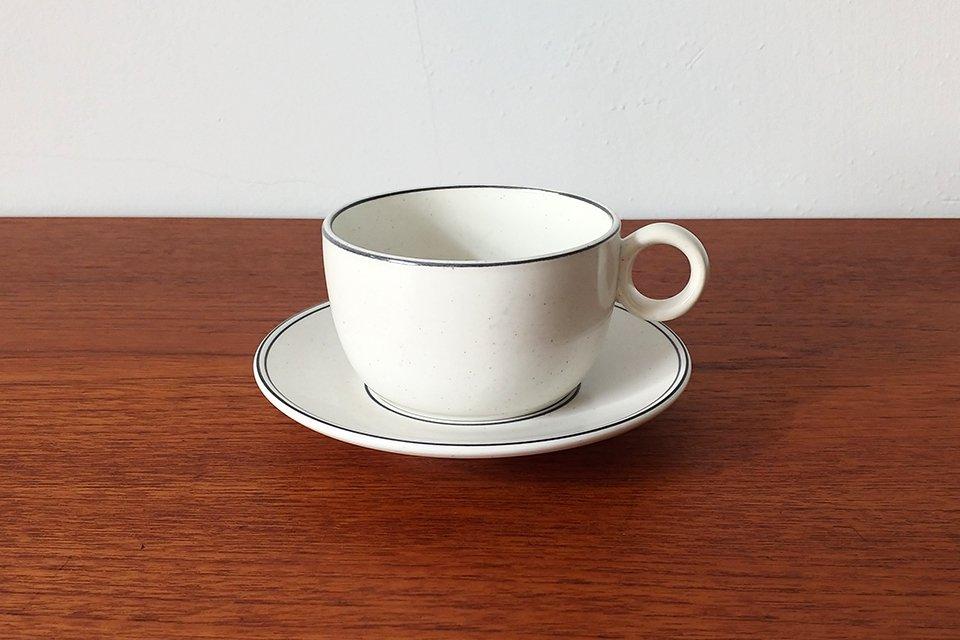 Gustavsberg / BIRKA カップ&ソーサー φ10cm