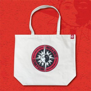 NUTS & VOLTZ CIRCLE LOGO TOTE BAG (Natural)