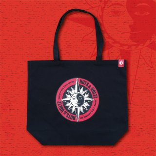 NUTS & VOLTZ CIRCLE LOGO TOTE BAG (Black)