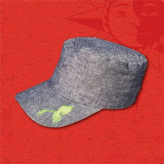 NUTS & VOLTZ Work Cap (Denim/Patchwork)