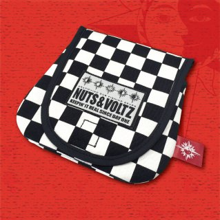NUTS & VOLTZ REEL CASE (Checkered Flag Cloth )
