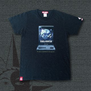 DELIGHTS SPACE TOUR 20XX T-Shirts (Heather Black)